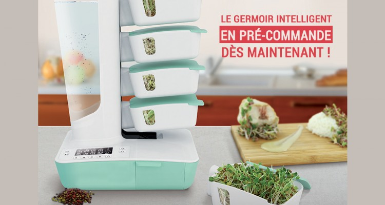 Germoir intelligent Home to Nature